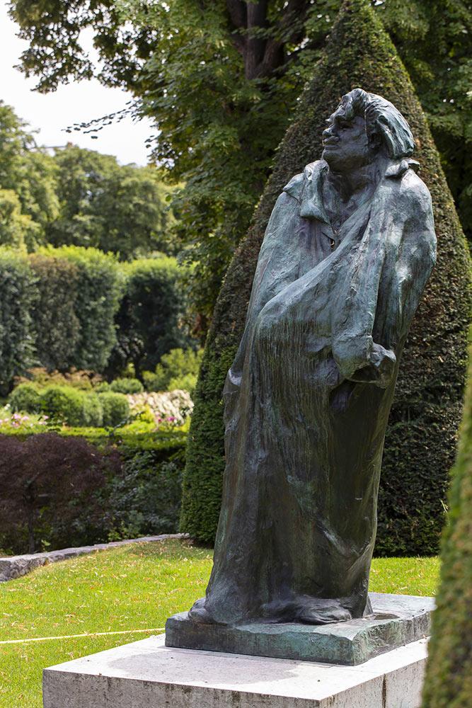 Rodin, Impressionist, Sculpture, Monument to Balzac, France, Musee Rodin